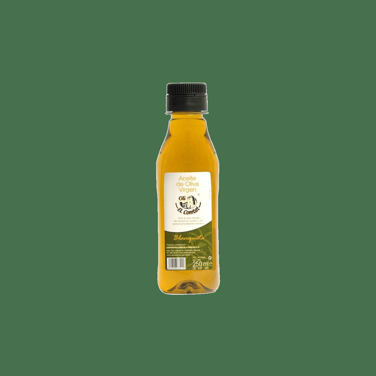 Aceite de oliva variedad blanqueta 25ml