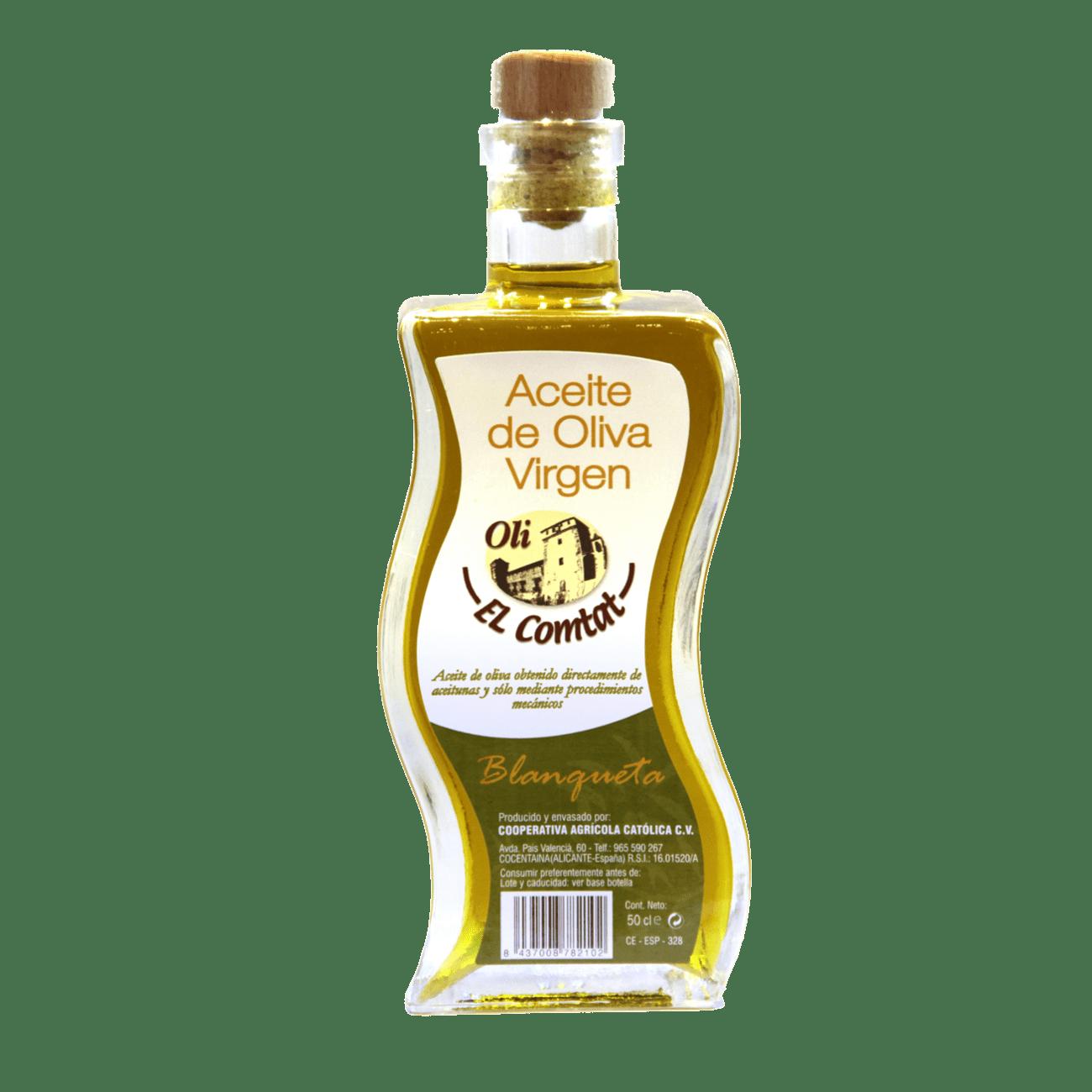 Aceite de oliva variedad blanqueta Aceitera 50ml