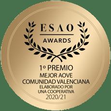 Primer premio AOVE de cooperativa Comunidad Valenciana